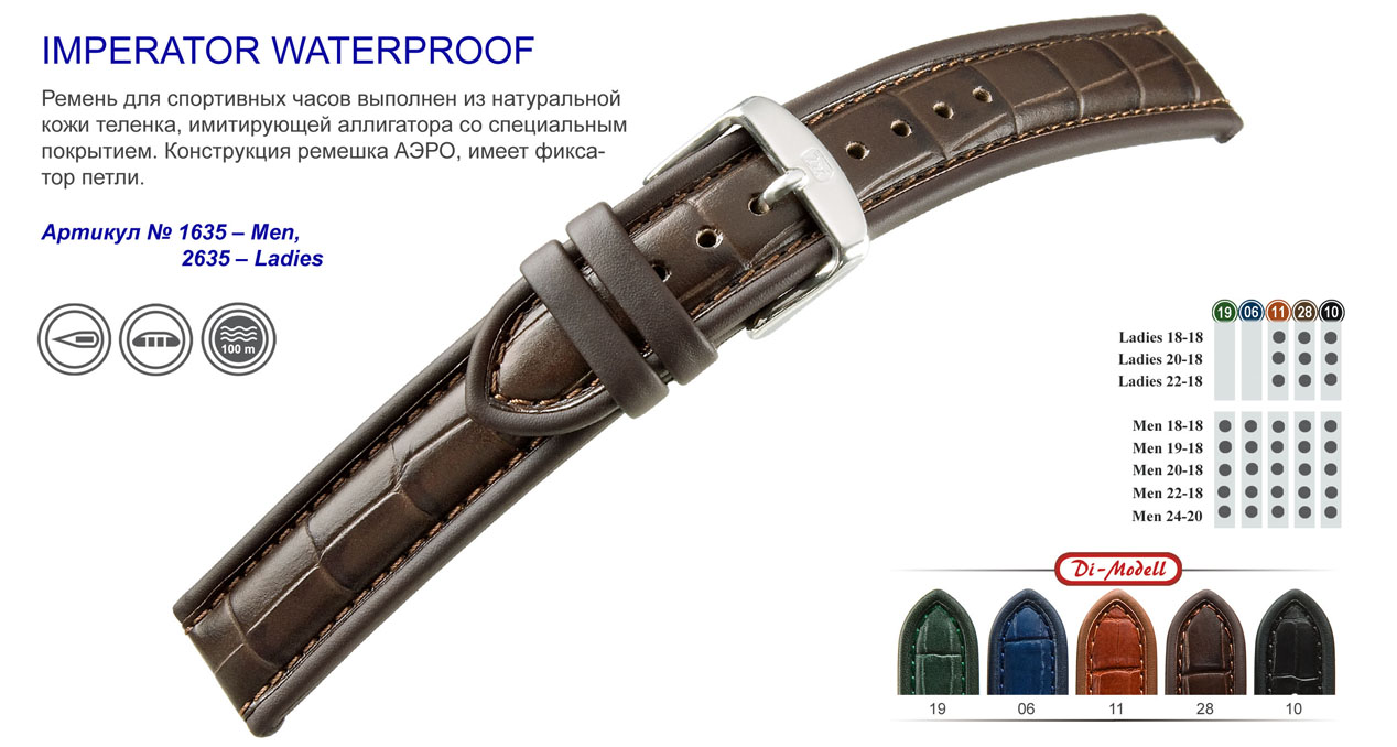 Imperator Waterproof 1635